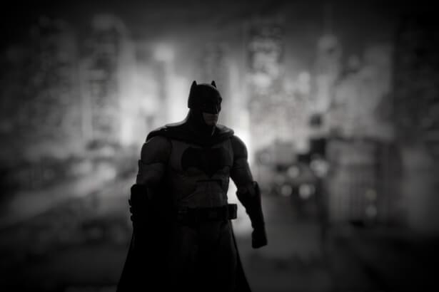 Empreinte écologique superhéros Batman