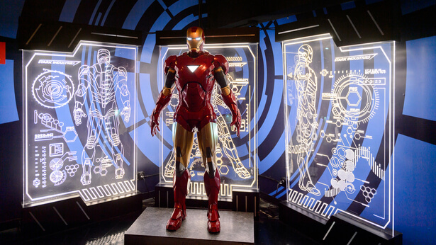 Empreinte ecologique super-héros Ironman