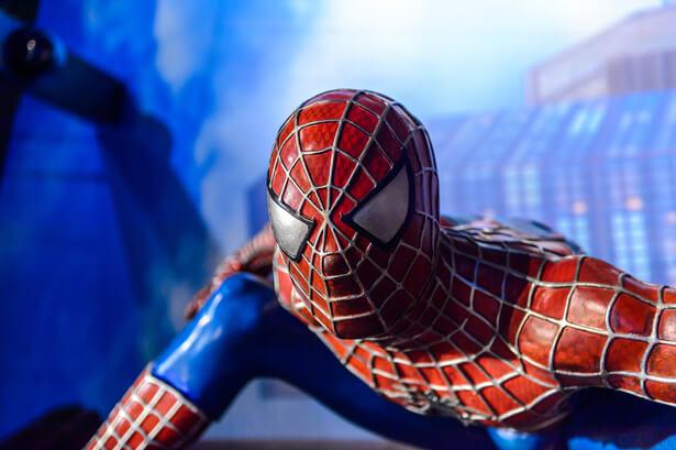 Empreinte écologique super-héros Spiderman