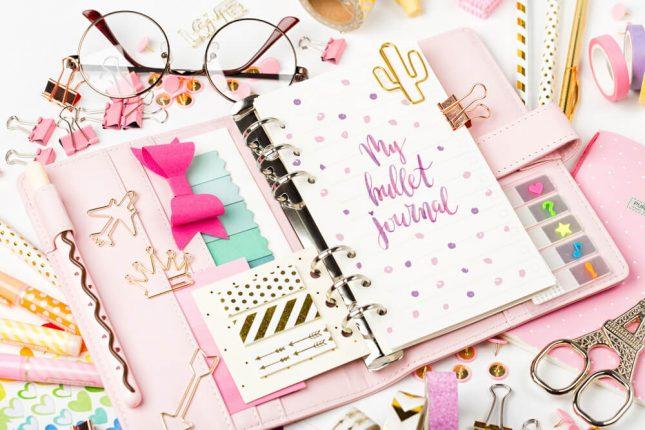 Bullet journal, agenda, DIY