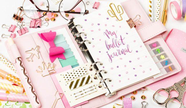 bullet journal, bullet agenda
