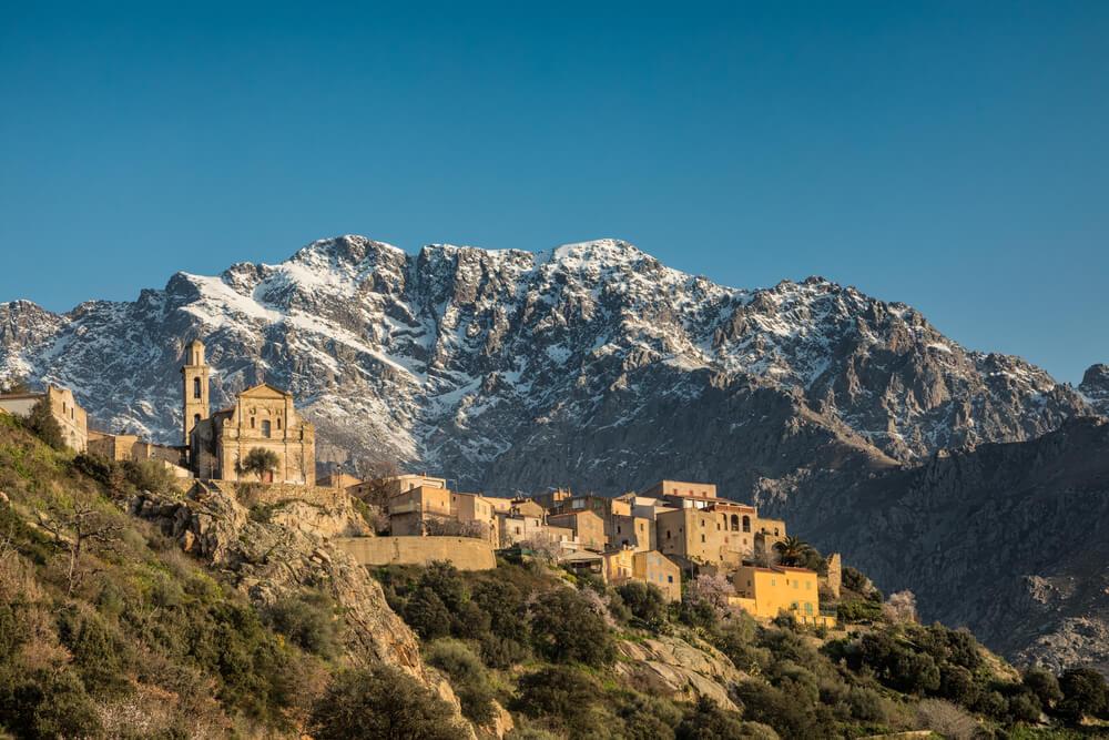 Corse en hiver