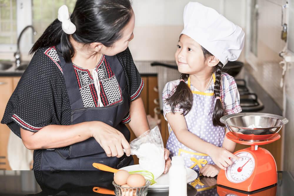 cuisine enfants, activités hiver