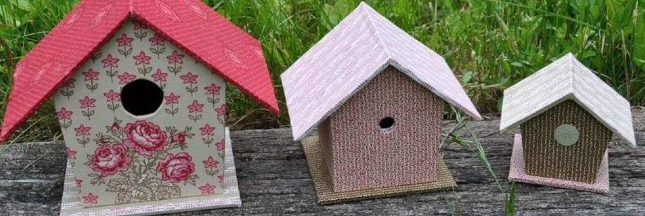 6 idées inspirantes pour fabriquer un abri pour oiseaux