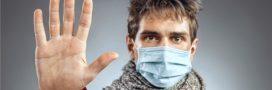 La grippe se transmet aussi simplement en respirant!