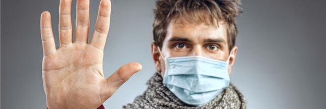 La grippe se transmet aussi simplement en respirant !