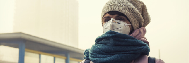 La pollution perturbe les cycles menstruels des jeunes femmes