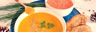 La soupe de lentilles corail à l'indienne