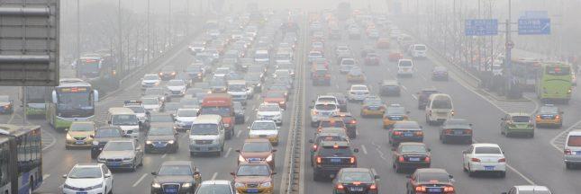 Chine: un purificateur d'air géant pour lutter contre la pollution
