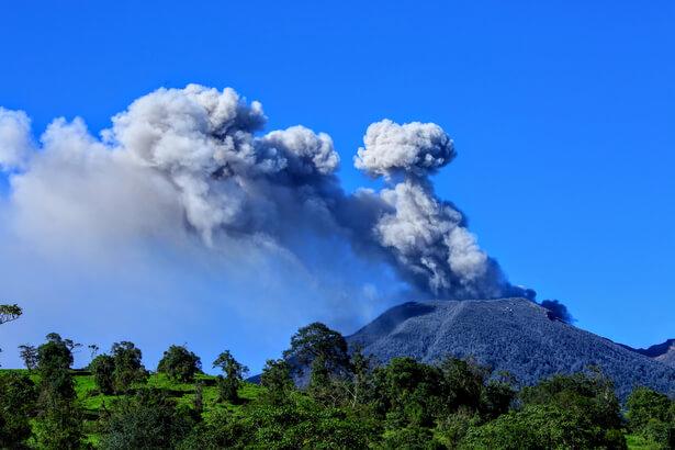 volcan Merapi menace 2018