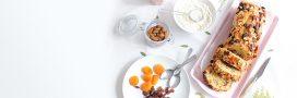Recette du cake aux épices et aux fruits secs