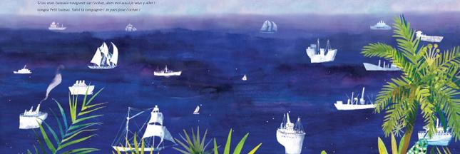 Sélection livre : Petit Bateau de Papier, une fable écologique sur l'océan