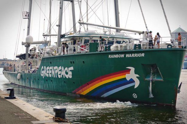 greenpeace, rainbow warrior