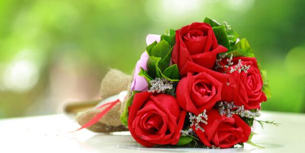 bouquet rose Saint-Valentin