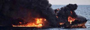 Après le naufrage du Sanchi, une marée noire menace le Japon