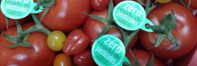 Il y a du nouveau au rayon fruits et légumes frais : le label 'Zéro résidu de pesticides'