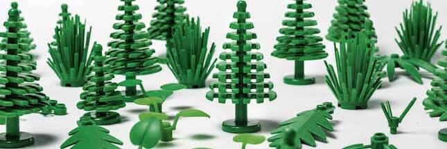 Lego lance ses premières pièces en plastique végétal