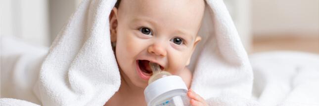 donner eau bébé