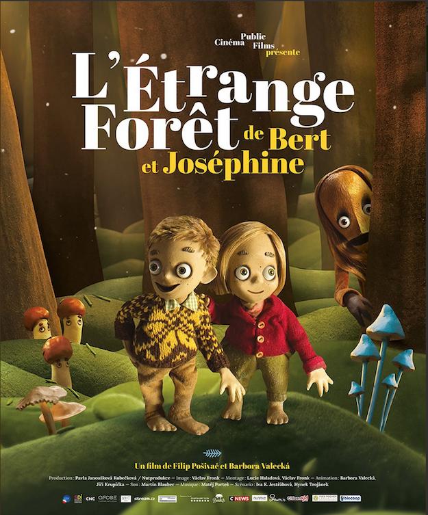 étrange forêt de Bert et Joséphine