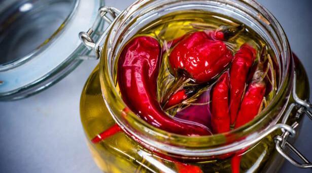 huile pimentée