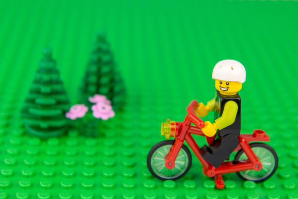 lego plastique végétal