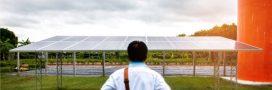Des panneaux photovoltaïques fonctionnels même quand il pleut!