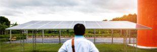 Des panneaux photovoltaïques fonctionnels même quand il pleut !