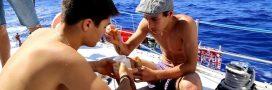 Des lycéens découvrent de nouvelles micro-algues dans l'Atlantique