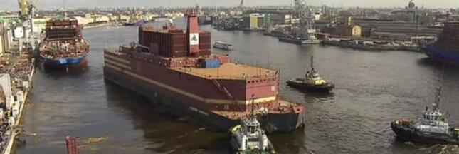 Russie : la première centrale nucléaire flottante en route vers l'Arctique