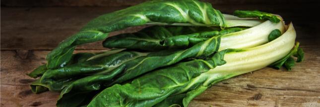 Les légumes oubliés: la blette pour faire le plein d'antioxydants
