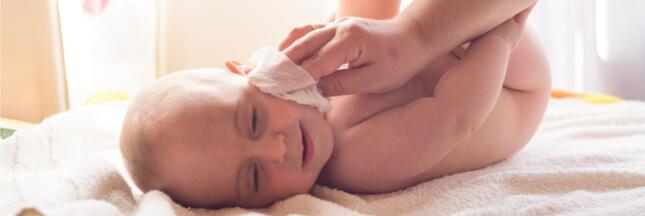 Les lingettes pour bébé joueraient un rôle dans les allergies alimentaires
