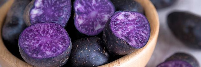Les légumes oubliés: la pomme de terre vitelotte pour mettre de la couleur dans votre assiette