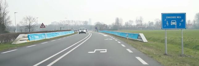 Des routes musicales pour protéger les automobilistes