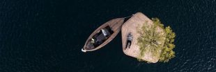Un parc d'îles flottantes pour se relaxer dans le port de Copenhague