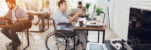 Handicap au travail: les entreprises françaises doivent s'améliorer