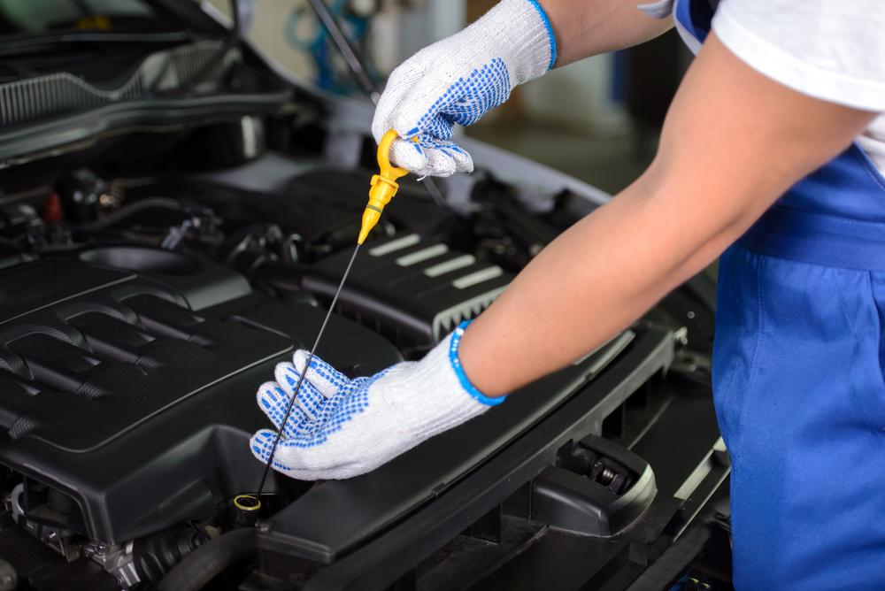 jauge d'huile de voiture