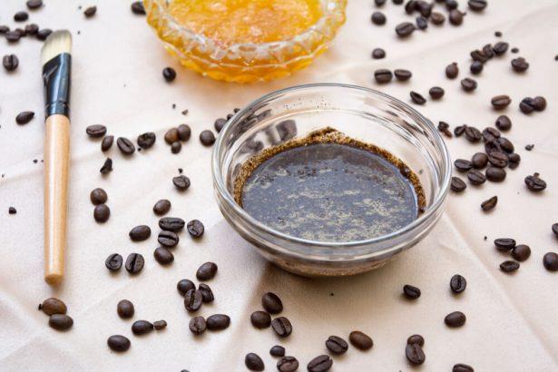 soins visage marc de café