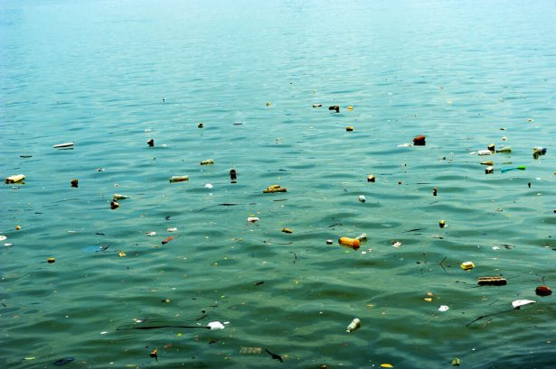 ocean cleanup, barrière flottante, pollution océan