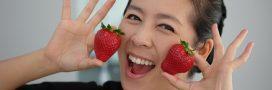 Quand la fraise se ramène à la salle de bains…