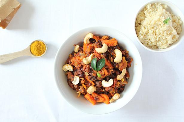 curry de haricots azuki
