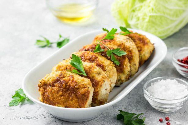 assiettes minceur croustillantes, beignets de poulet