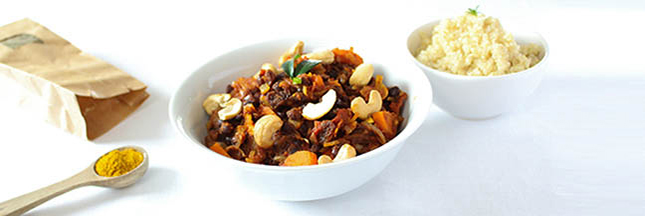 Recette du curry de haricots azuki à la tomate et quinoa