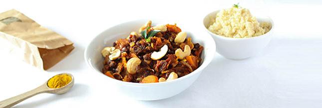curry haricots azuki