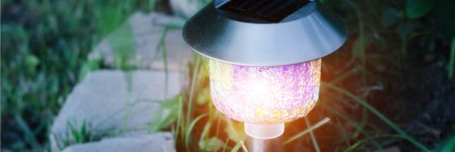 Lampes solaires : comment les remettre en route?