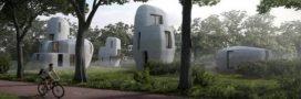Project Milestone: un quartier de maisons imprimées aux Pays-Bas