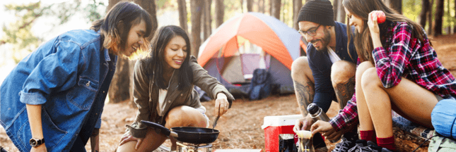 Manger sainement en camping : nos astuces
