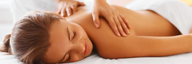 Le massage, c'est bon aussi pour le moral !