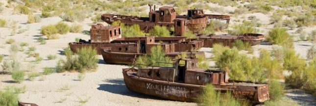 Comment le gouvernement kazakh sauve la mer d'Aral