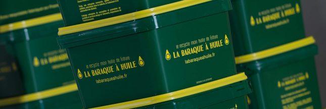 Recycler ses déchets de friture avec la Baraque à Huile