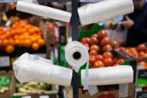 plastique supermarches